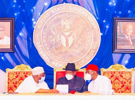South-South Governor Present Five Major Demands Before President Buhari, See List