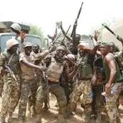 (Graphic Photos): Nigerian Army Neutralised Seven Boko Haram Insurgents In Damasak