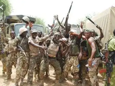 (Graphic Photos): Nigerian Army Neutralised Seven Boko Haram Insurgents In Damasak