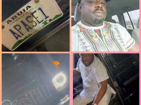 Iyabo Ojo And Others Congratulate Muka Ray As He Shares Video To Show Off His New Gwagon Car(Photos)