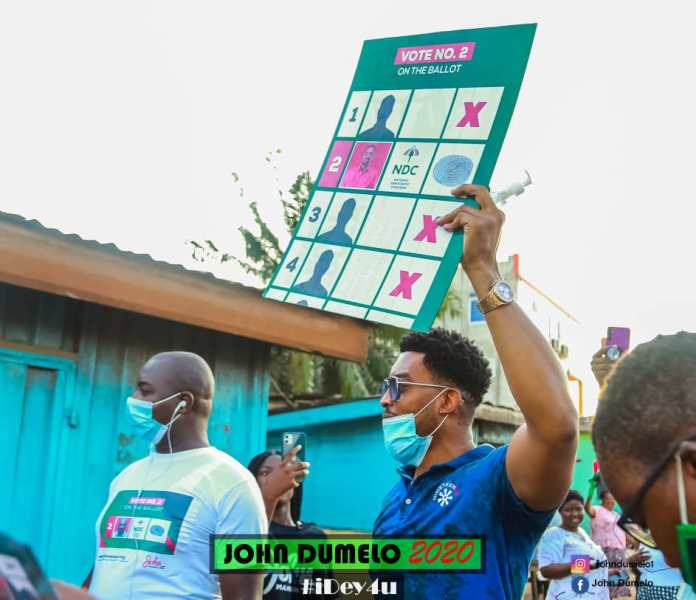 c5e02d2e521c5a2ee0afd4abfbc5beca?quality=uhq&resize=720 - John Dumelo And Hon Lydia Alhassan Celebrities Campaign Team, Who Is More Influential? (Photos)