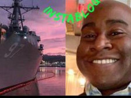 Reactions As Kelechi Ndukwe Became The First Nigerian-American To Be Captain Of U.S. Navy Ship