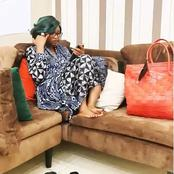 Mr Macaroni, Ini Edo & Others react as Genevieve Nnaji stuns in new photo of her relaxing at home