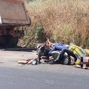 Axe Duékoué-Guiglo/ Un motocycliste et son passager s'écrasent violemment sur l'arrière d'un camion