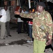 Drama As a Rogue Police Officer Brutally Beats His Wife Who Is A Court Registrar In Mombasa
