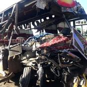 Several Passengers Injured After A Deadly Accident Involving 2 PSVs, Driver Abandons the Bus