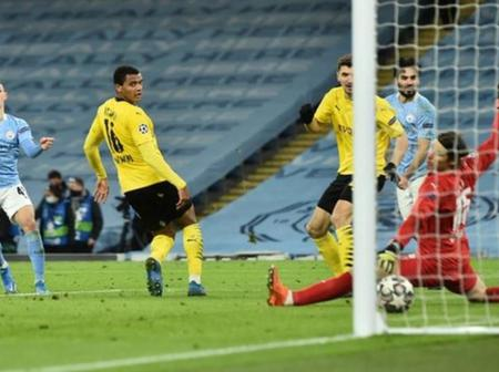 UCL: Foden scores late victor as Man City edge Dortmund in first leg