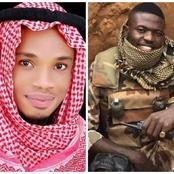 PHOTOS: Igbo Man Who's A Muslim Prays For God's Protection On Nigerian Soldiers