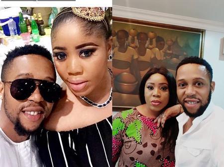 Checkout Lovely Photos Of Yoruba Actor Sunkanmi Omobolanle, His Beautiful Wife And Children