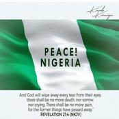 The Need for Consensus and Peace in the Light of Ongoing SARS Protest in Nigeria.
