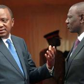 Kenyans React Over What Uhuru 'Said' About Ruto On Radio