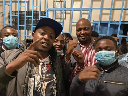 Just In: Gatundu South MP Moses Kuria Arrested For Defying Covid-19 Protocols (PHOTOS)