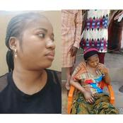 Ada Jesus Has Been Taken To The Spiritualist In Asaba For Solution To Her Ailments. Check Out Why
