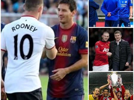 Barcelona, Van Persie, Solskjaer & Others Recognises Wayne Rooney Retirement With Message Of Tribute