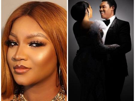 Actress Omotola and Husband Stun In Lovely Photos As They Celebrate 25th Anniversary Today