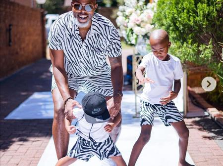 See adorable pictures Thapelo Mokoena recently shared with his Squad.