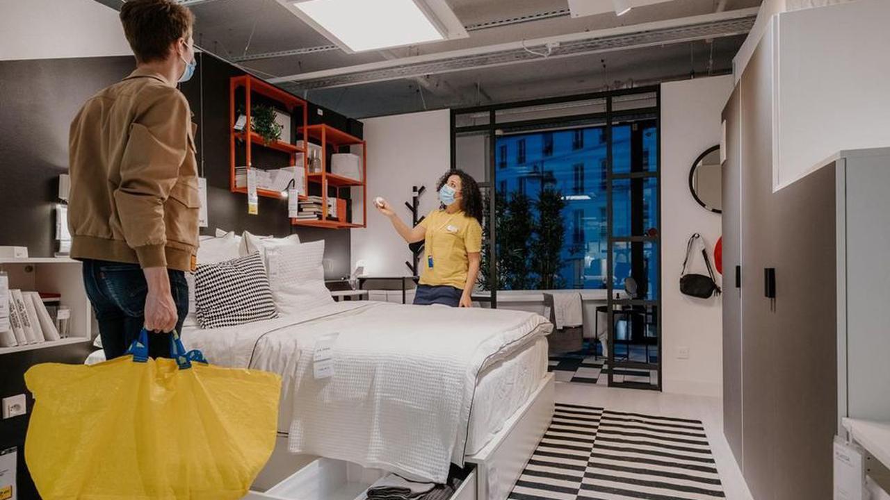 Paris : Ikea rouvre son magasin de la Madeleine dans une nouvelle version