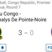 Etoile du Congo took third place spot after latest 3-0 win against Nathalys
