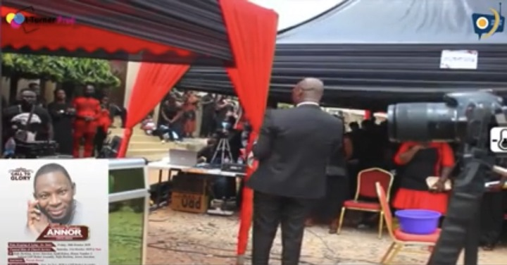 c653cbe0d56a6351e242dc76a4201d48?quality=uhq&resize=720 - Sad Photos From Musician Sampson's Final Burial Ceremony. Prophet Kofi Oduro Pays His Last Tribute