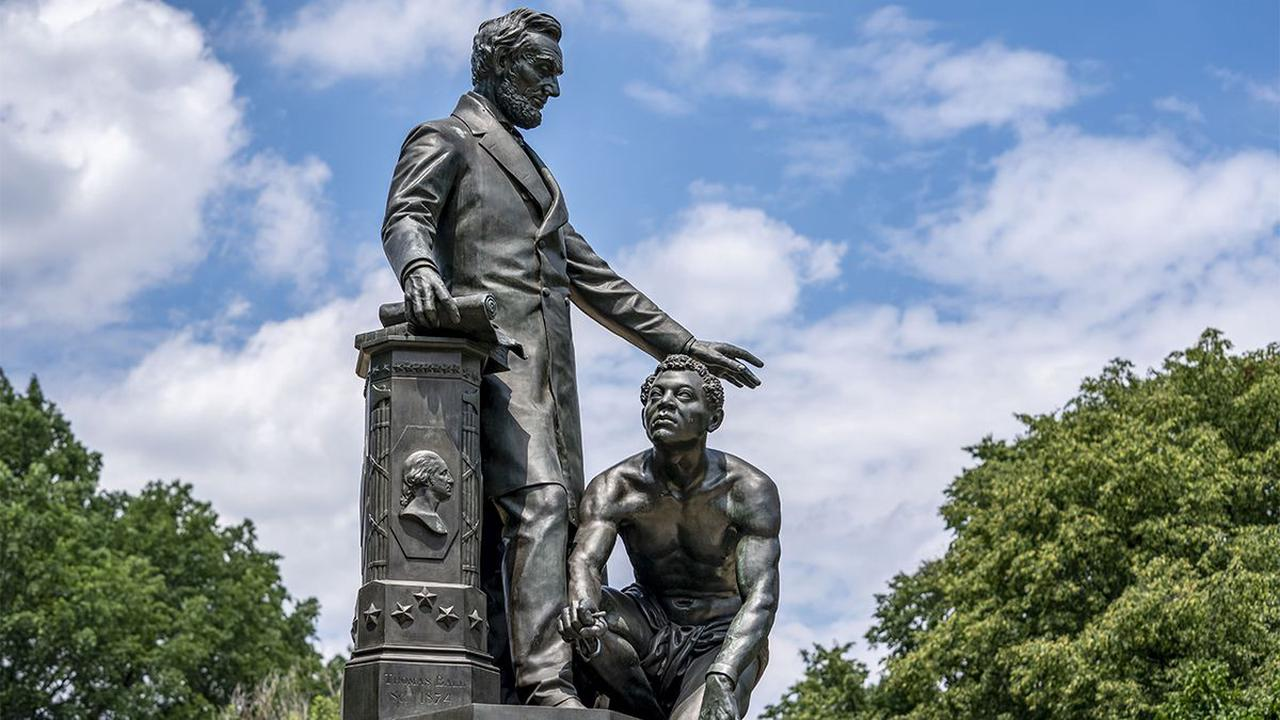 Emancipation Group statue removed from Boston's Park Square