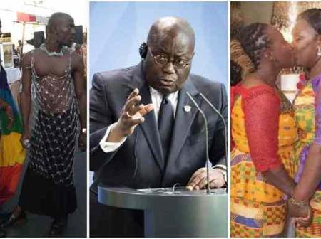Nana Addo baffle Homos, says Homosexuality won't ever be sanctioned