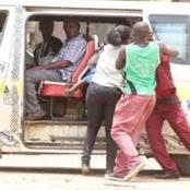 Bad Mannered Matatu Driver Intentionally Hits and bang a Private Car while Hurling Insults at the Ow