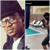Paul Okoye Says ''No Try Me'' As He Practices With A Punching Bag (Photos)