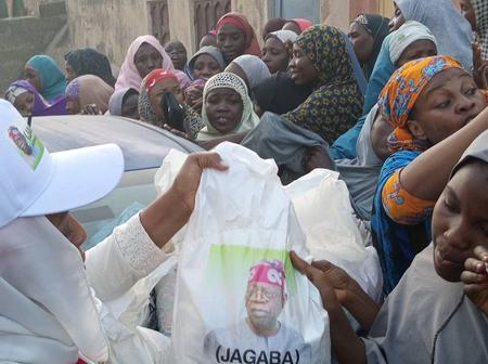After Picture Of Bola Tinubu's Rice Was Seen Online, See What Nigerians Are Saying About It