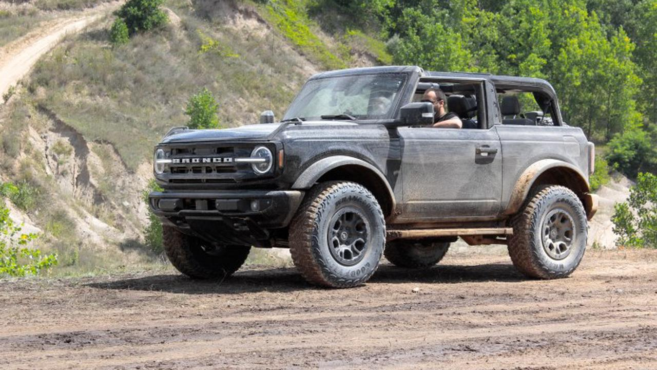 FORD BRONCO RIDE ALONGS HAPPENING DURING KING OF THE HAMMERS