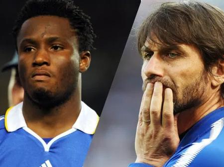 Conte Pushed Me Out Of Chelsea For Representing Nigeria – Mikel Obi