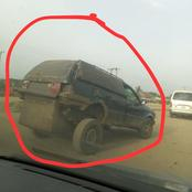 Check Out Car Found In Nigeria That Is Causing Reactions On Social Media