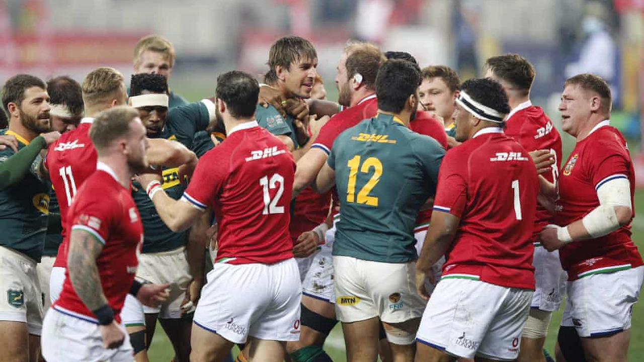 Decisive Lions Test overshadowed by unsporting behaviour and ugly rugby