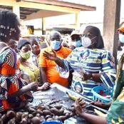 A la veille des législatives, une photo d'Anne Ouloto faisant le marché à Tolepleu crée le buzz