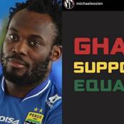 See What Happened After Michael Essien Posted