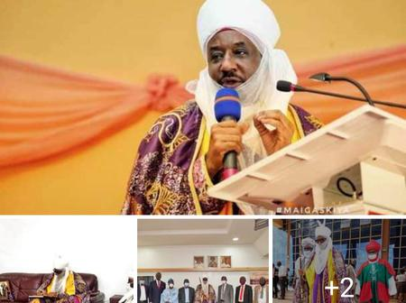 Sanusi Sighted at the 24th Convocation Ceremony of Ekiti State University [Photo]