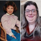 After This Woman Shared A Childhood Photo Of Herself On Facebook, See What People Noticed About Her