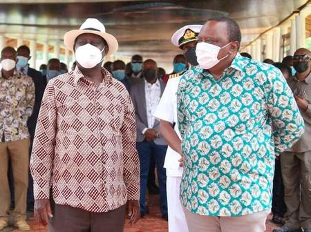 Details Why President Uhuru Met Raila And The Outcome Of The Meeting Emerges