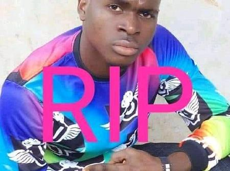 Painful Exit: A Young Nigeria Student Lost His Life After Complications From A Football Match Injury