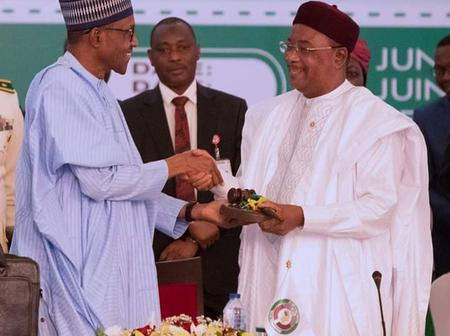 Mixed Reactions As President Buhari Names Newly Constructed Abuja Expressway After Niger President