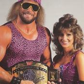 Adorable photos of Macho Man Randy savage and Mrs Elizabeth
