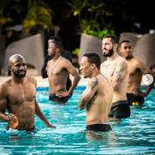 Chiefs Players Go For A Chill Before A Wydad Clash.
