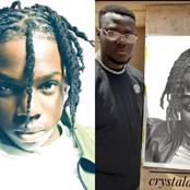 Rema Reacts After A Loyal Fan Drew A Portrait Of Him, See The Amount Rema Wants To Dash Him