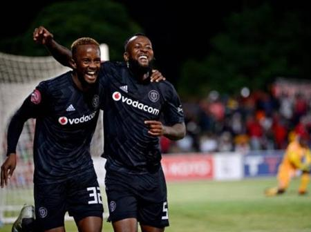 Orlando Pirates Star Mntambo Sent Cautions that It's not Over. See this