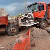 Drame / Tiassalé : un mort dans une collision entre deux camions