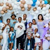 Beautiful pictures from Ayanda Ncwane's youngest son's 13th birthday celebration.