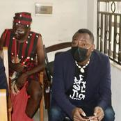 Sowore Appears in Court with Fully-Kitted 'Babalawo'- See Pictures