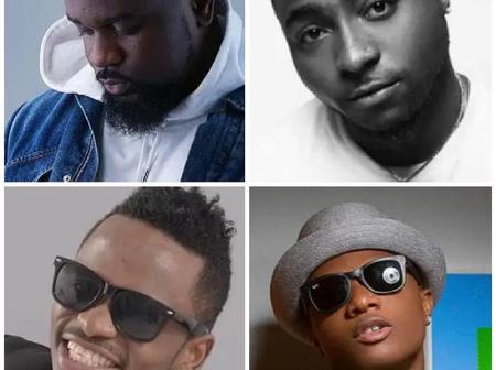 Sarkodie, Davido, Diamond Platnumz and Wizkid: Who Is The Best Artist In Africa?