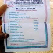 God Have Mercy!! Checkout The List This Apprentice Tailor Must Fulfil To Gain Freedom From Her Madam
