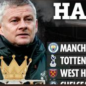 EPL Teams That Would Have Been In Top 4 This Season If Matches Were To End In The Half Time