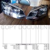 R60 000 For VW Polo Headlights Has Caused A Stir On Social Media.